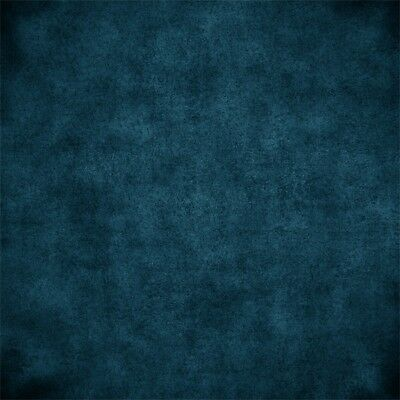 2x2ft Hot Matte Blue Photography Background Food Theme Photo Backdrop Studio