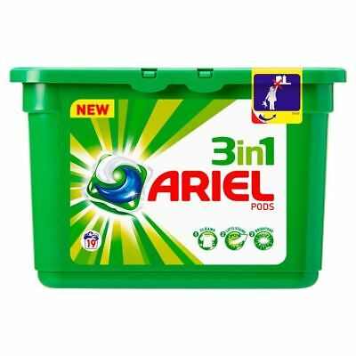 Ariel 3In1 Pods Regular - 19 Washes (19 per pack) (Pack of 6)