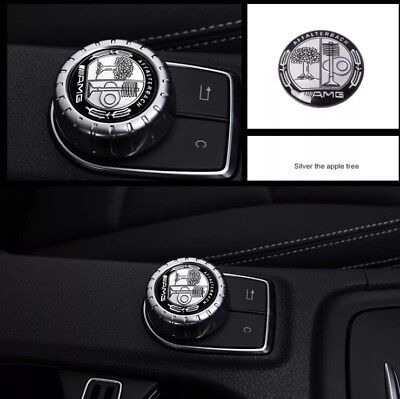 AMG Sports 29mm Radio Controller Button Badge Multimedia Sticker Top Quality