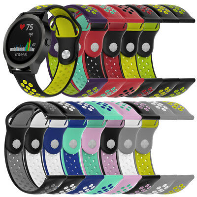 Fashion Replacement Soft Silicone Watch Band Strap For Garmin vivoactive 3