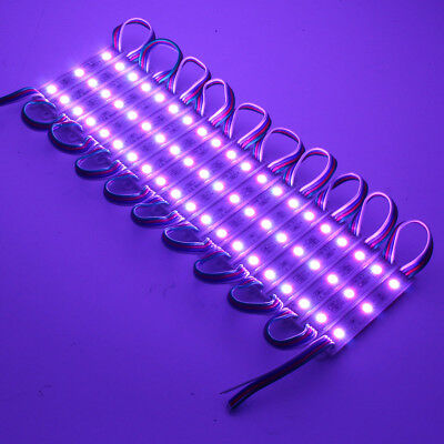 100Pcs Smd5050 Rgb Led Module Strip Light For Club Store Front