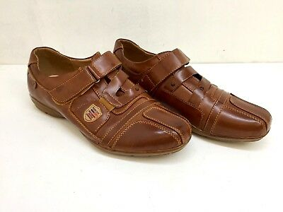 Mens Real Leather Casual Boat Deck Mocassin Loafer Driving Shoes X-Ocho Size 6