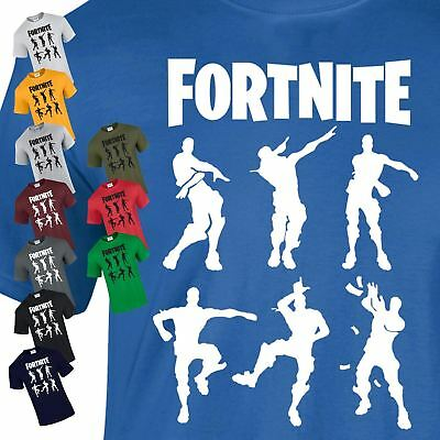 Fortnite 6 Character Kids & Adult PS4 Xbox One Pc Gamiing Kid's New Top T-Shirt