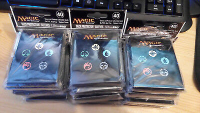 Magic the Gathering 80 Schutzhüllen Sleeves Mana Symbole OVP