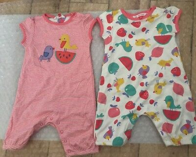 John Lewis Baby Girl Chick playsuit Romper 18-24 Months ( New)