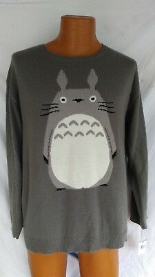 Vintage My  Neighborhood TORTORO 1988 Studio Ghibli Nibariki Sweater One size