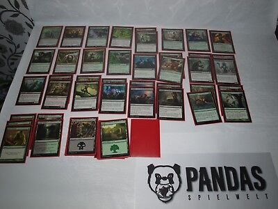 MtG Magic the Gathering schwarz grünes Elf Deck