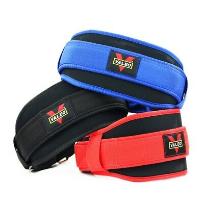 Weight Lifting Belt Back Support Strap Bodybuilding Exercise Fitness Training