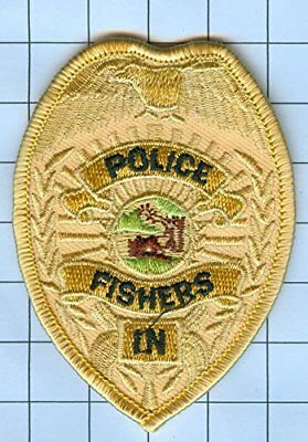 Police Patch Embroidered Mini-Patch  - Indiana - Fishers
