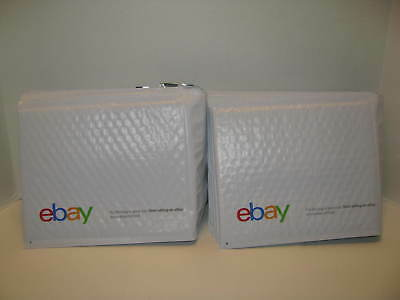"LOT of 20 eBay Branded Airjacket Bubble Envelopes 6.5"" X 8.75"" ~ Padded Mailers"
