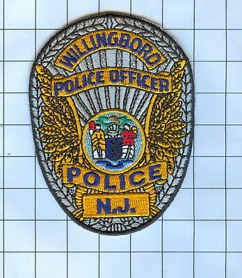 Police Patch Embroidered Mini-Patch  - New Jersey - Willingboro Po...