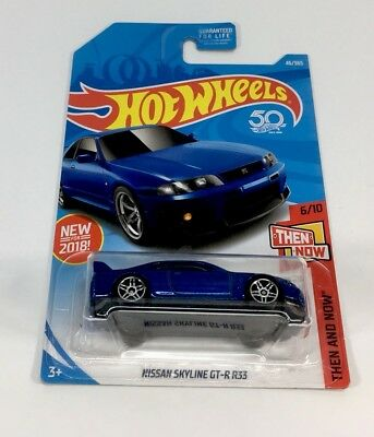 Hot Wheels HW Then And Now 1:64 Diecast Nissan Skyline GTR R33 **NEW**