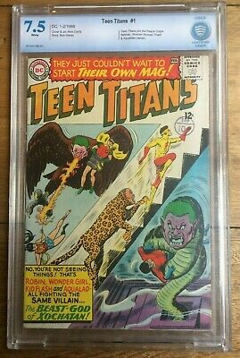 Teen Titans #1 CBCS 7.5 White Pages