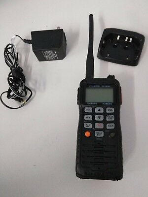 Standard Horizon HX850S GPS Floating Marine Transceiver w/ Cradle & DC Adapter