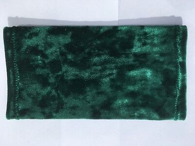 Lycra PICC Line or Freestyle Libre Cover - Deep Green Velvet
