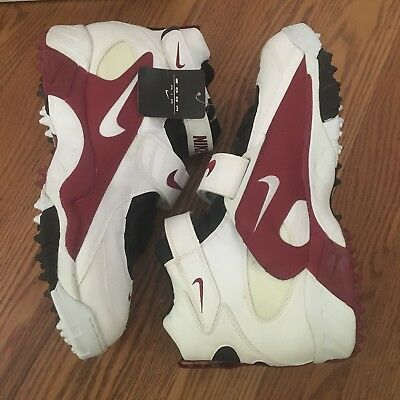 super popular ceb89 f7208 RARE VINTAGE NIKE AIR PRO DESTROYER STOVE FOOTBALL TURF CLEATS SHOES sz 16  90s