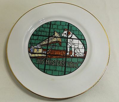 Vintage Collector Plate RCA Broadcast Systems Nipper, His Masters Voice 952/1000