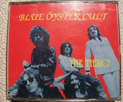 """Blue Oyster Cult """"The Thing !"""" Double Cd Fat Jewel Case Live In Nyc 1981 Bm036/2"""