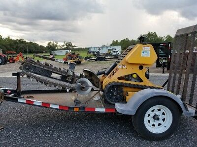 "BOXER 118 STAND ON / RIDE ON 36"" TRENCHER! ( Vermeer, Ditch Witch, Toro )"