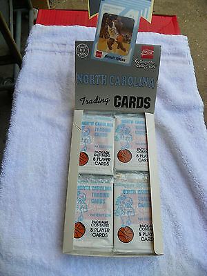 1 Pack North CarolinaCollegiate Collection Coca Cola Player Cards 8 Per Pack