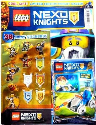 Lego Nexo Knights Issue #6 ~ New Sealed With Lego Toy ~
