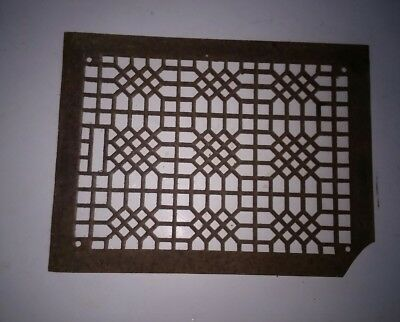 Antique Vintage Cast Iron Heater Grate Vent Register Cover