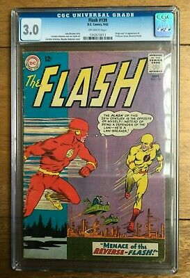 Flash #139 CGC 3.0 1st appearance of Professor Zoom (Reverse Flash) Off White