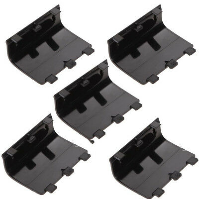 5X Black Battery Cover Door Shell Replacement for XBOX One X1 Controller