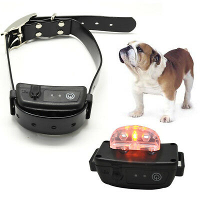 Anti Bark Rechargeable Waterproof Dog No-Barking Training Collar Shock Control