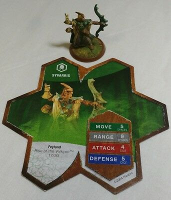 Heroscape Syvarris Rise Of The Valkyrie  With Card
