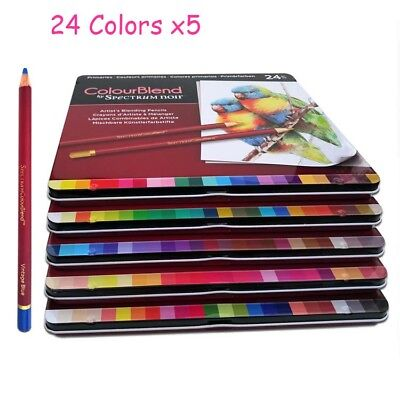 BEST COLORED PENCILS120 Coloring Pencil Set With Case Professional ...