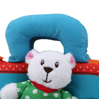 Playpen Book Soft Rattles Early Learning Educational Kids Infant Bear Cloth HM