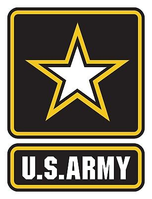 US Army Decal Sticker Self Adhesive Vinyl