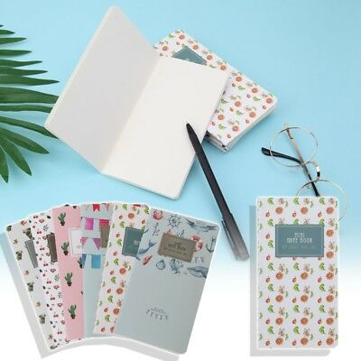Mini Pocket 48 Lined Pages Monthly Planner Notepad Memo Notebook School Supplies
