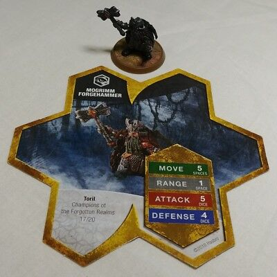 Heroscape Figure, Mogrimm Forgehammer, Champions Of The Forgotten Relms