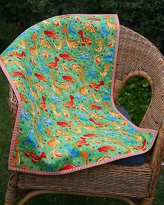 Dinosaur Bassinet, stroller, play/change mat, cotton quilt morethanjustquilts