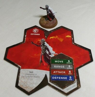 Heroscape Figure: Estivara w/card from Champions Of The Forgotten Realms