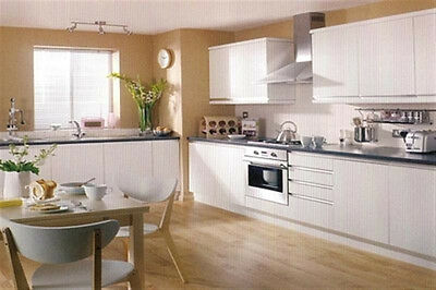 New - Complete Fitted Budget Kitchen - White