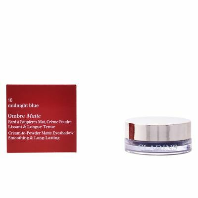 Clarins Ombre Matte Cream Eyeshadow, 10 Midnight Blue 7g