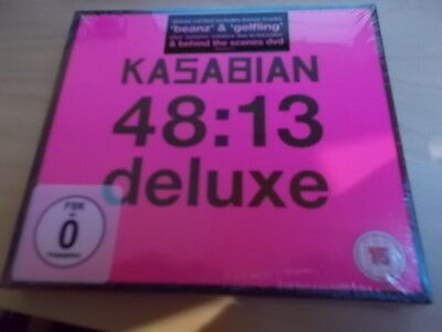 Kasabian - 48:13  DELUXE EDITION  CD+DVD  NEU   (2014)