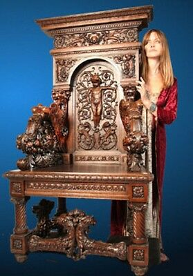 Museum Throne Chair By Luigi Frullinni