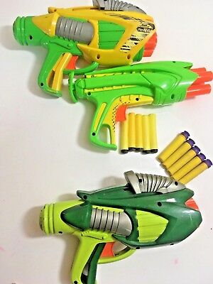 Joblot/bundle Of Nerf Guns With Bullets