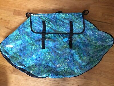 Irish Dance Dress Bag, Fits Two Dresses With Pocket For Back Dress Patch