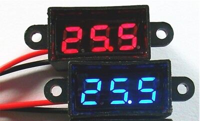 Waterproof Mini Digital Voltage Check Meter with Receiver Plug for RC Boat