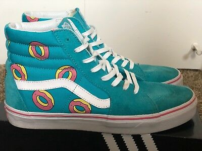 244d3b8b898bc1 ... VANS X ODD FUTURE SK8 HI Size 9.0 SCUBA BLUE DONUT golf wang supreme  the latest ...