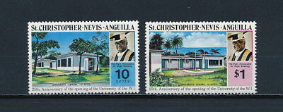 St Kitts & Nevis  284-5 MNH, University of the West Indies, 1974