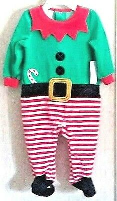 Little Wonders Baby Christmas Elf 2 Pc Set 3-6 Months 15-18 lbs Curled Toes NWT