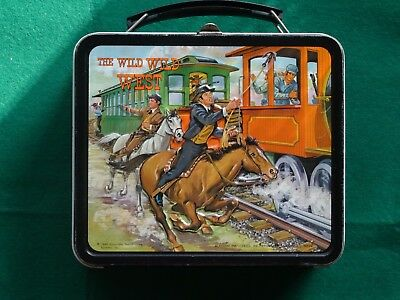 The Wild Wild West Metal Lunchbox withThermos
