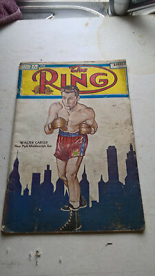 boxing magazine the ring august 1951