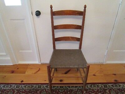 Shaker Side Chair with Tilters, circa 1930, all original including seat